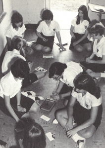 Mount Carmel Academy Academic Games players, circa 1966
